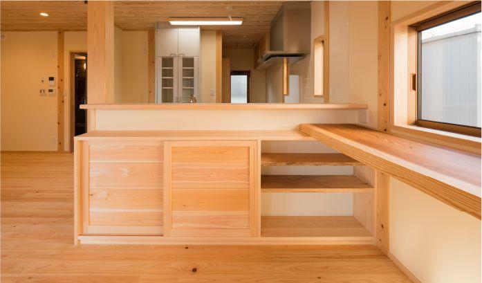 オリジナルの家具・建具