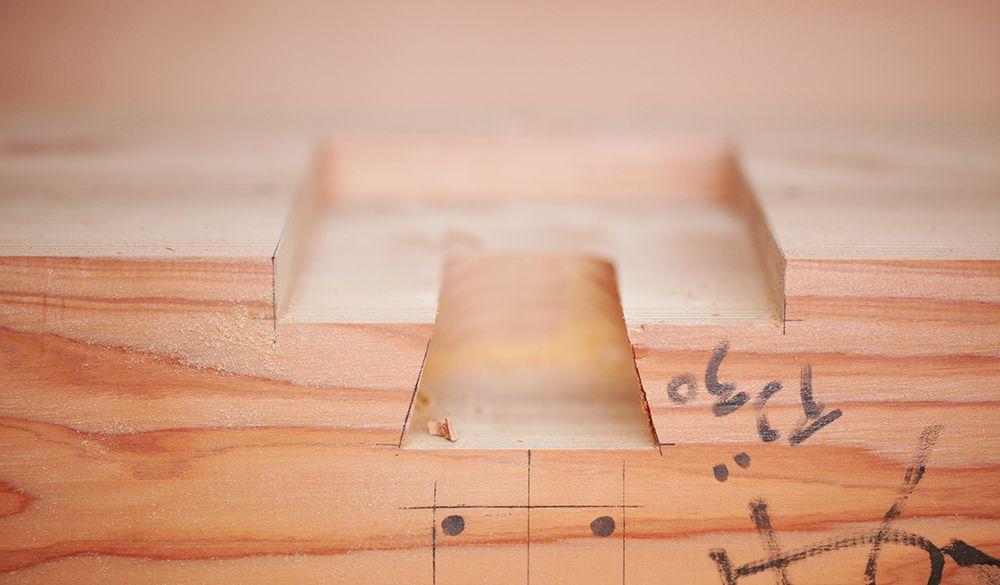 国産材を使い、風土にあった建築材を選ぶ
